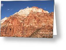 Zion Red Rock Greeting Card