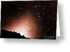Zodiacal Light Greeting Card