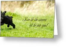 Zoom Zoom. Greeting Card