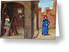 Zoroaster (c628-c551 B.c.) Greeting Card