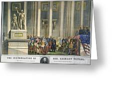 Z.taylor: Inauguration Greeting Card by Granger