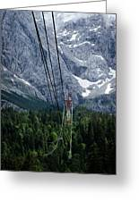 Zugspitze Greeting Card
