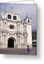Zunil Church Guatemala Greeting Card