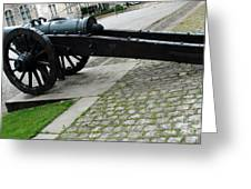 Zurich Cannon Greeting Card