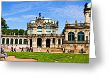 Zwinger Palace - Dresden Germany Greeting Card