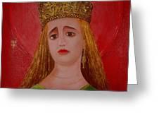 St.martha Greeting Card