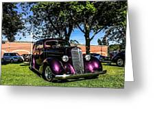 1939 Chevy Coupe Greeting Card