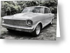 1963 Chevy Nova II Greeting Card