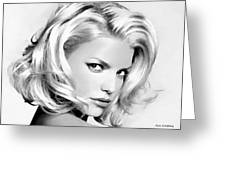 # 3 Jessica Simpson Portrait Greeting Card