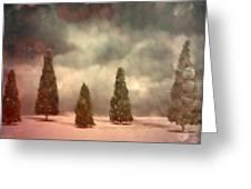 5 Pine Greeting Card