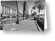 7th Street View Greeting Card