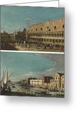Active Venice Circa  Greeting Card