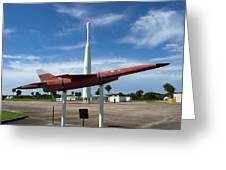 Air Force Museum At Cape Canaveral  Greeting Card