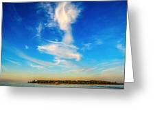Angel  Walking On Air  Greeting Card