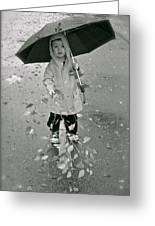 ... Another Rainy Day  Greeting Card