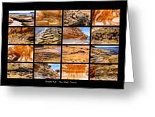 ' Australia Rocks ' - Maria Island - Tasmania Greeting Card