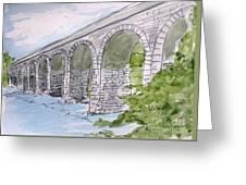 Ballydehob Bridge Ireland Greeting Card