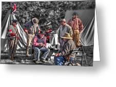 Battle Of Honey Springs V1 Greeting Card