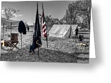 Battle Of Honey Springs V15 Greeting Card