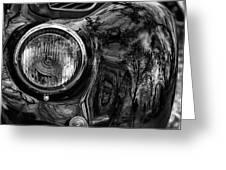 Bmw 327 Cabrio Greeting Card