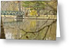 Bridge Revealed Greeting Card