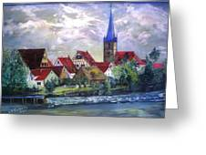 Brucker Kirche Greeting Card