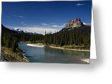Castle Mountain 1 Greeting Card