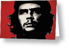- Che - Greeting Card by Luis Ludzska