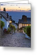Clovelly Greeting Card