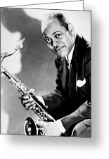 Coleman Hawkins  Greeting Card