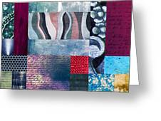 Composition Abstraite Greeting Card