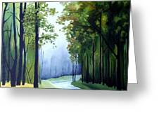Country Road Greeting Card by Carola Ann-Margret Forsberg