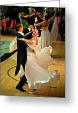 Dance Contest Nr 08 Greeting Card