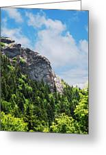 Devil's Courthouse Blue Ridge Mountains Greeting Card