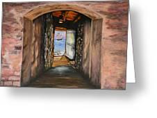 Door Of No Return Greeting Card