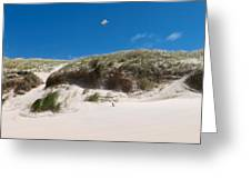 Dunes Of Danmark 2 Greeting Card