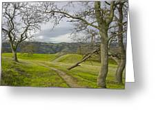 East Ridge Trail Spring Greeting Card