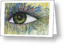 Eye For Details Greeting Card