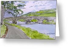 Ferry House Bridge Greeting Card