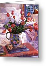 Fresh Tulips Greeting Card
