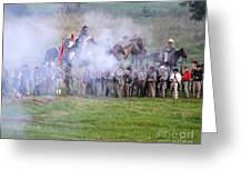 Gettysburg Confederate Infantry 7503c Greeting Card