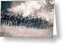 Gettysburg Union Infantry 9360s Greeting Card