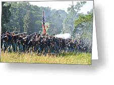Gettysburg Union Infantry 9372c Greeting Card