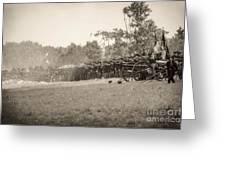 Gettysburg Union Infantry 9968s Greeting Card