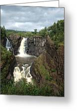 High Falls Grand Portage Mn Greeting Card
