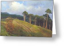 In The Crimean Mountains   Greeting Card