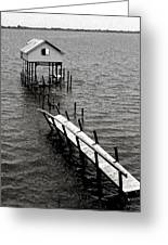 Indian River Pier Greeting Card