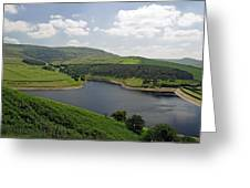 Kinder Reservoir From White Brow Greeting Card