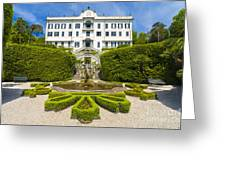 Lake Como,villa Carlotta, Italy Greeting Card