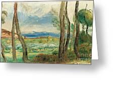 Landscape Mediterranean Greeting Card